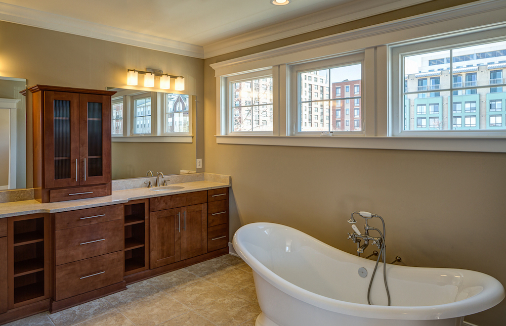 Master Bath with Designer Soaking Tub