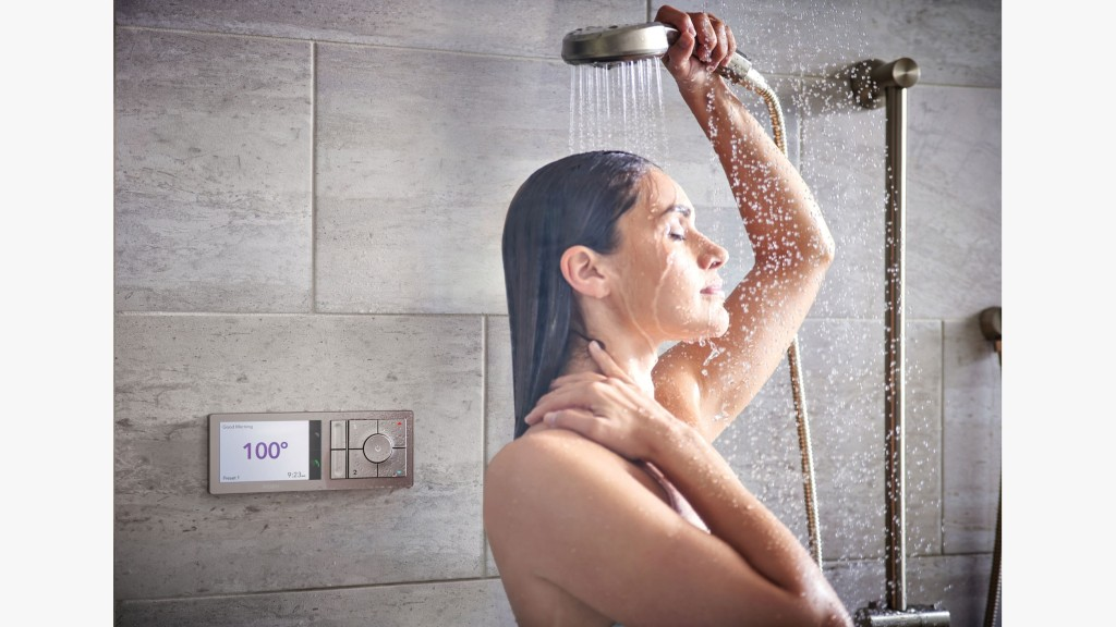 A digital shower that can be operated through voice, phone, and controller. Moen has partnered with Amazon to turn on your shower and set temperature using Alexa. We are getting closer to a fully connected smart home.